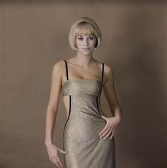 Mireille Darc by Sam Lévin 80s Actresses, Teresa Wright, Olivia De Havilland, Star Wars, Catherine Deneuve, French Photographers, French Actress, Jolie Photo, Stage Outfits