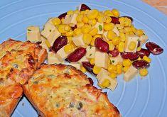 Maissalat mit Käse