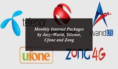 Today in this article we will tell our readers about the monthly internet packages 2020 of all the telecom operators of Pakistan including Jazz+Warid, Telenor, Ufone and Zong.  All these telecom operators are offering the best monthly internet packages 2020 in affordable rates to fulfill the communication needs of their customers. Jazz Free Internet, 4g Internet, Mobile Phone Price, Mobile Phones, Internet Packages, Latest Smartphones, Free Facebook, Government Jobs, Health And Beauty