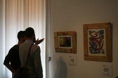 Inauguración de la exposición. Los visitantes disfrutan de la muestra. #museosmassociales #mnad