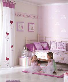 Stickers para pared y muebles de princesas de la marca for Stickers habitacion nina