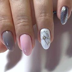 Acrylic Nail Designs Glitter, Acrylic Nails Coffin Glitter, Classy Acrylic Nails, Summer Acrylic Nails, Almond Acrylic Nails, Nail Art Designs, Yellow Nails, Purple Nails, Cute Nails