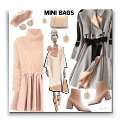 """Cute Mini Bag "" by ragnh-mjos ❤ liked on Polyvore featuring Ann Demeulemeester, Salvatore Ferragamo, Kenneth Jay Lane, Christian Dior, Furla and Tory Burch"