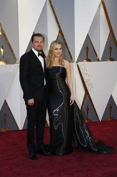 Leonardo DiCaprio and Kate Winslet- Oscars Red Carpet Arrivals | 88th Academy Awards