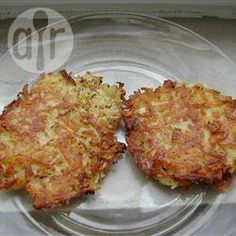 Foto da receita: Bolinho de batata ralada
