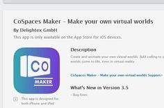 CoSpaces Maker – Make your own virtual worlds on the App Store