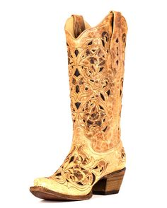 Country Outfitter - Ant Saddle Brushed Corral Boot - $224.95