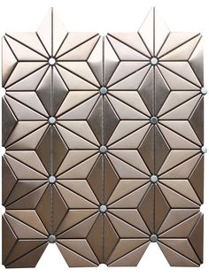 PENNY ROUND metal Mosaic Tile