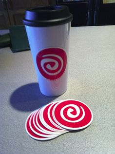 Use our stickers for logo branding on merchandise!