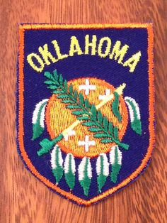 Oklahoma Vintage Travel Patch by Voyager by HeydayRetroMart, $8.00