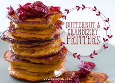Pumpkin fritters are a South African classic! My sister-in-law, Ady, is well known for hers and she makes them for every big family meal. I simply had to come up with a gluten- and sugar-free alternative to avoid the food envy at these occasions! Pumpkin Fritters, My Sister In Law, Big Family, Christmas Recipes, Gluten Free Recipes, Family Meals, Free Food, Sugar Free, Envy