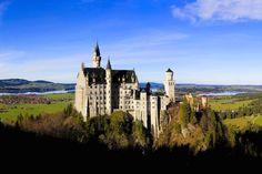 Neuschwanstein Schloss, Ludwing Castle, Germany