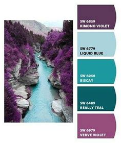 Image Result For What Color Goes With Lavender And Teal Purple Bedroom Bathroom