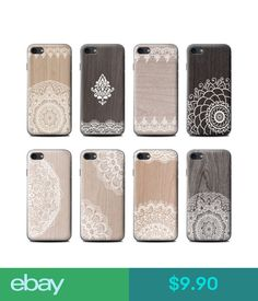 Cases, Covers & Skins Stuff4 Gel/Tpu Phone Case For Apple Iphone Smartphone/Fine Lace Wood/Cover #ebay #Electronics