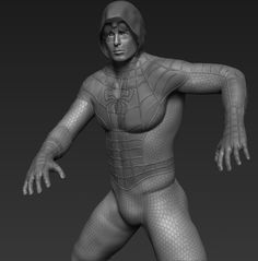 ArtStation - Spiderman, Jose Ricardo Montes Piña