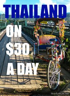 When traveling in Thailand, it's relatively easy to stick within a daily budget of $30 per day!  Read these tips to learn how to do it.
