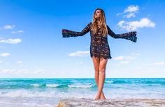 Pilyq Coverup #lace #crochet #swimwearworld