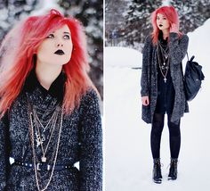 IF ALL NOW HERE -- I FALL NOWHERE (by Paula Ilona Viktoria) http://lookbook.nu/look/2948311-IF-ALL-NOW-HERE-I-FALL-NOWHERE