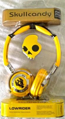 DJ Headphones Skullcandy Lowrider in Yellow Color USA and CANADA     http://yardsellr.com/for_sale#!/dj-headphones-skullcandy-lowrider-in-yellow-color-usa-and-canada--3729714