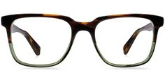 Chamberlain Saddle Sage Eyeglasses by Warby Parker