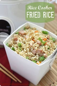 Easy Peasy slow cooker fried rice