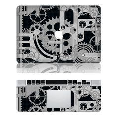 Amazing Gear --- Mac Protector Mac Cover Decal Macbook Decals Macbook Stickers  Vinyl Decal Skin Cover for  Macbook Pro / Macbook Air. $17.50, via Etsy.