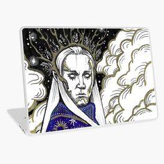 Thranduil, Baroque Fashion, Laptop Skin, Dark Art, The Hobbit, Art Boards, Etsy Store, Vinyl Decals, Vibrant Colors