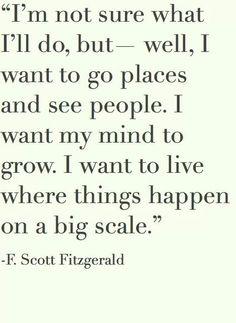 F Scott Fitzgerald #quotes