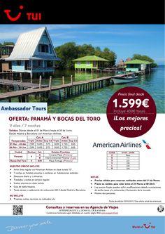 Oferta Panamá y Bocas del Toro. 7 noches. De Marzo a Junio con AA. Precio final desde 1.599€ ultimo minuto - http://zocotours.com/oferta-panama-y-bocas-del-toro-7-noches-de-marzo-a-junio-con-aa-precio-final-desde-1-599e-ultimo-minuto-3/