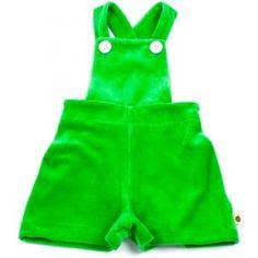 lime green shortalls