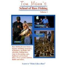 Tom Mann's School of Bass Fishing - Volume One $24.95