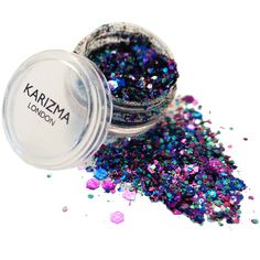 Karizma Mermaid Chunky Glitter (€7,14) ❤ liked on Polyvore featuring beauty products, makeup, eye makeup, beauty, fillers, eyes, saying, quotes, phrase and backgrounds