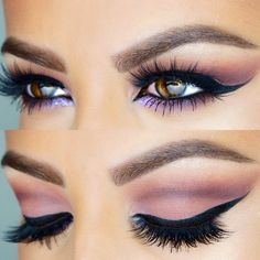 Pink Nudes With A Soft Cut Crease Awesome Eyes Make-up !