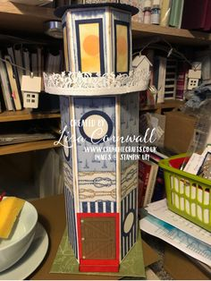 A little Lighthouse - Crunchie Crafts 10 Envelope, Under My Umbrella, Embossing Folder, New Toys, Lighthouse, Stampin Up, Journey, Crafts, Bell Rock Lighthouse