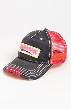 True Religion Brand Jeans Trucker Hat available at  Nordstrom A Logo 90d9e09aa43e