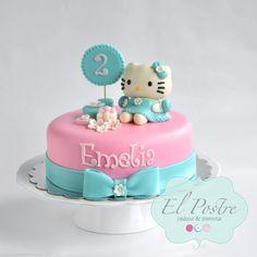 Birthday Cake for Mak Cartoon Birthday Cake, Minnie Birthday, Birthday Cakes, Birthday Ideas, Happy Birthday, Hello Kitty Cake, Fondant Toppers, Love Cake, Cupcake Cakes