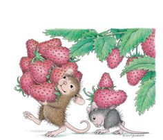 Picking Berries (House Mouse)