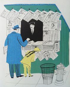 Roger Duvoisin (August 1904 – was a Swiss-born American writer and illustrator, best known for children's picture books. He won the 1948 Caldecott Medal for picture books and in 1968 he. Art And Illustration, Roger Duvoisin, Book Of Kells, Children's Picture Books, Linocut Prints, Gravure, Illustrators, Book Art, Jean Giraud