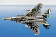F-15C 79-0041 114th FS 173rd FW Oregon ANG Celebrating 75th Anniversary Apr 2016