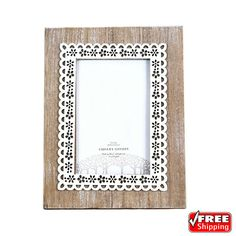 Handmade Vintage Wooden Picture Photo Frame Handcrafted Art Home Decor Wooden Shelving Units, Handmade Picture Frames, Wooden Picture, Photos, Pictures, Decoration, Picture Photo, Vintage, Ebay