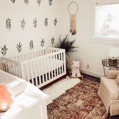 Most Popular Boho Baby Room Decor 28 - Galoresolution Inc Baby Room Design, Nursery Design, Baby Room Decor, Baby Nursery Themes, Boho Nursery, Nursery Room, Nursery Sets, Rustic Nursery, Nursery Wall Decals