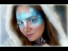 ▶ Frozen Makeup and Face Painting Tutorial - YouTube