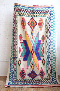 """-20% on all our rugs, 4 days only! Azilal Rug, Twinkle, 4'11"""" x 8'5"""" Baba Souk"""
