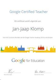 Wij geven GAFE trainingen in het hele land. Wellicht iets voor uw school. Kijk op www.schoolupdate.nl
