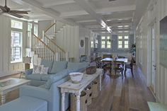 Possibly the prettiest cottage I've ever seen. I just adore this! @ http://gulfcoastcottage.blogspot.com