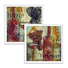 image of Vineyard Splendor Framed Wall Art
