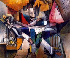 ALBERT GLEIZES  L'Homme au Hamac [Man in a Hammock], 1913