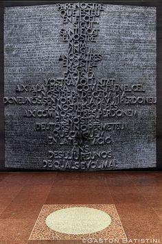 Door from the opposite side of the Altar, inside the La Sagrada Familia, Barcelona ,Spain !!