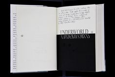 "On December 2nd, Christie's will auction off a copy of Don DeLillo's novel ""Underworld"" with more than 400 pages of annotations by the author. Take a look at a few of the notes, and read DeLillo's reflections on a ""somewhat grudging experience"" that turned into ""several days of pure pleasure."" (Photograph courtesy the PEN American Center)"
