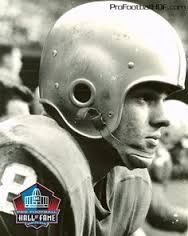 Detroit Lions - Yale Lary - Inducted to Pro Football Hall of Fame in 1979 - Played for Lions 1952 to 1953 & 1956 to 1964